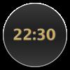 BackgroundClock (AppStore Link)