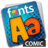 macFonts Comic (AppStore Link)