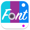 Fontography Text Photo Editor (AppStore Link)