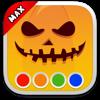 Coloring Book - Halloween MAX (AppStore Link)