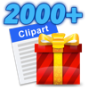 Clipart 2000+ (AppStore Link)