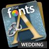 macFonts Wedding (AppStore Link)