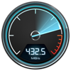 Blackmagic Disk Speed Test (AppStore Link)