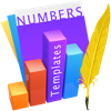 Templates for Numbers Design (AppStore Link)