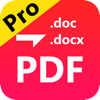 Any PDF to DOCX Converter-Convertir PDF a Word (AppStore Link)