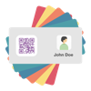 Contacts to QR Codes (AppStore Link)
