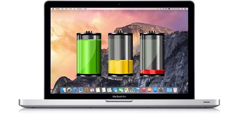 Indicadores de carga MacBook