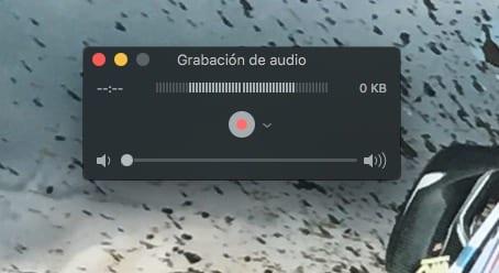 Grabación de audio con Quicktime