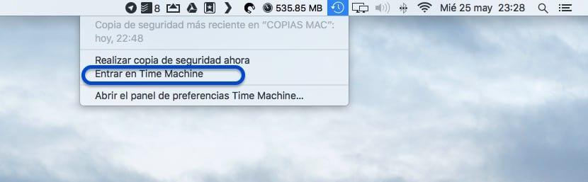 Cómo eliminar copias de seguridad de TimeMachine