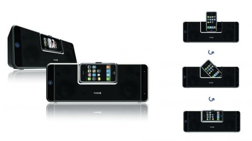 Altavoces+dock para iPhone y iPod Touch
