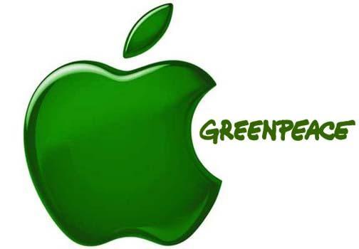 Greenpeace y Apple, cuidado del medio ambiente