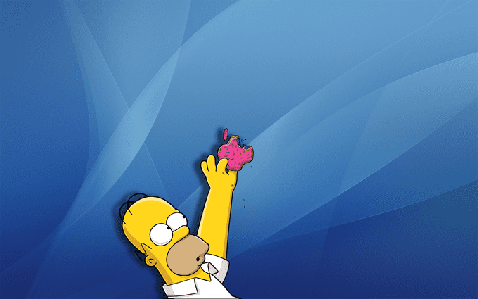 Parodia de Apple en Los Simpson