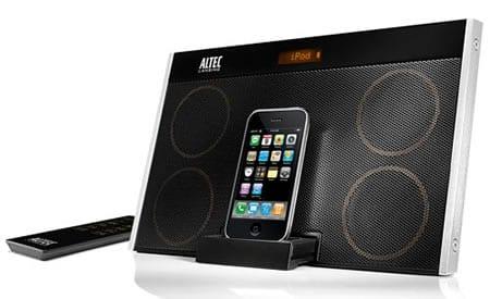Altavoces para iPhone y iPod Inmotion Max, de Altec