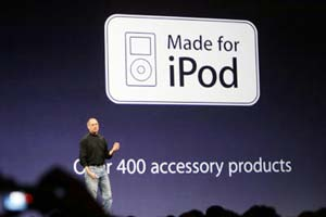 Chip en Auriculares para iPod Shuffle, made for iPod