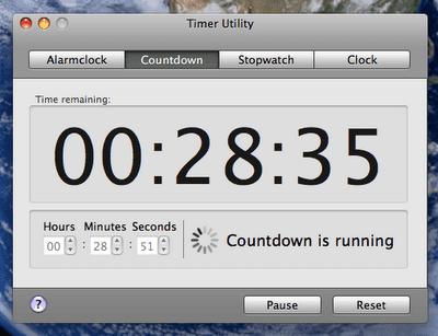 Timer Utility Aplicación Mac