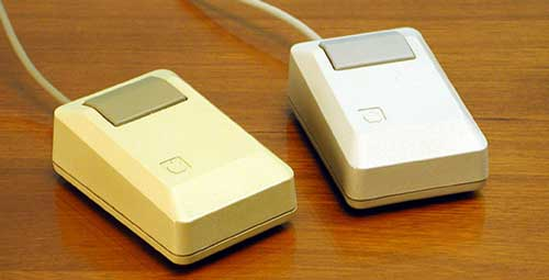 Historia del mouse Apple