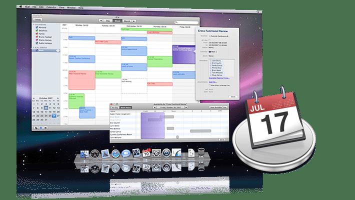 iCal suscripción a calendarios de Apple