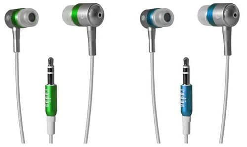 Auriculares Tru Tune Fine Color para iPod Nano