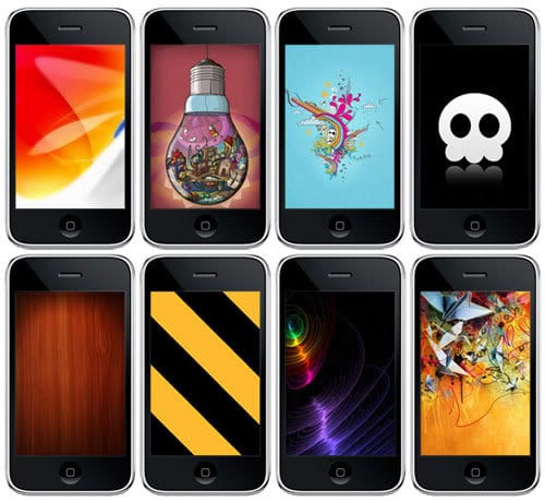 Fondos de pantalla o wallpapers para iPhone y iPod Touch