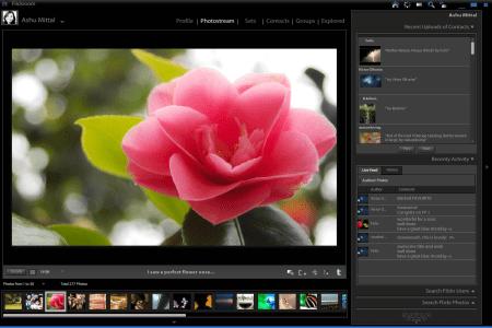 Aplicación Flickroom para Mac