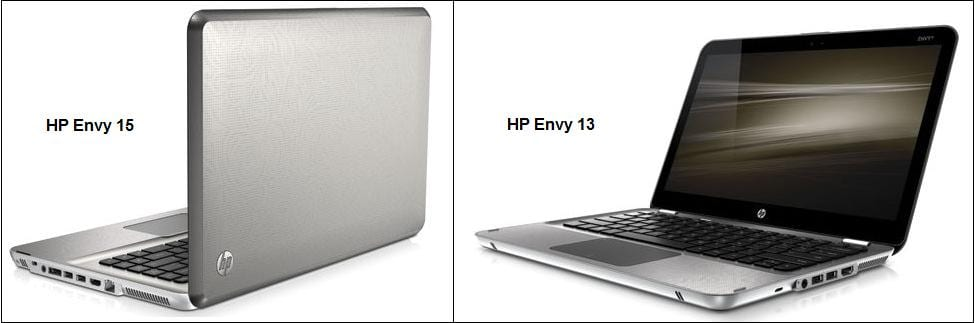 Portátiles HP competencia Macbook Pro y Macbook Air