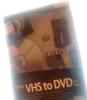 presentacion Roxio VHS to DVD for Mac