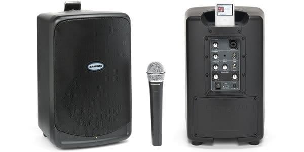 Sistema de sonido con dock par iPod