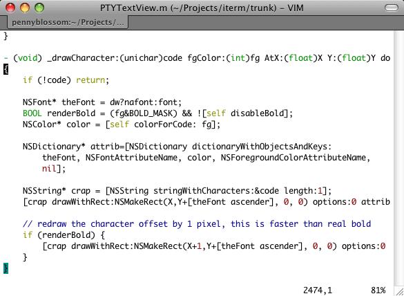 iTerm, la Terminal alternativa de Mac OS X