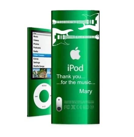 grabado personalizado ipod
