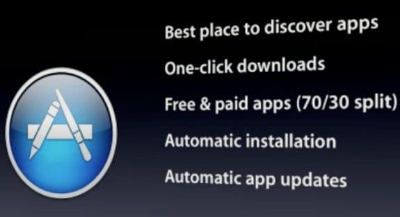 mac app store La Mac App Store podría lanzarse en una semana