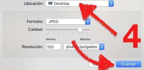 Reducir el espacio que ocupa una imagen JPEG