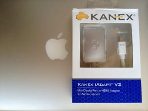 Review Kanex iAdapt V2, Adaptador Mini DisplayPort a HDMI