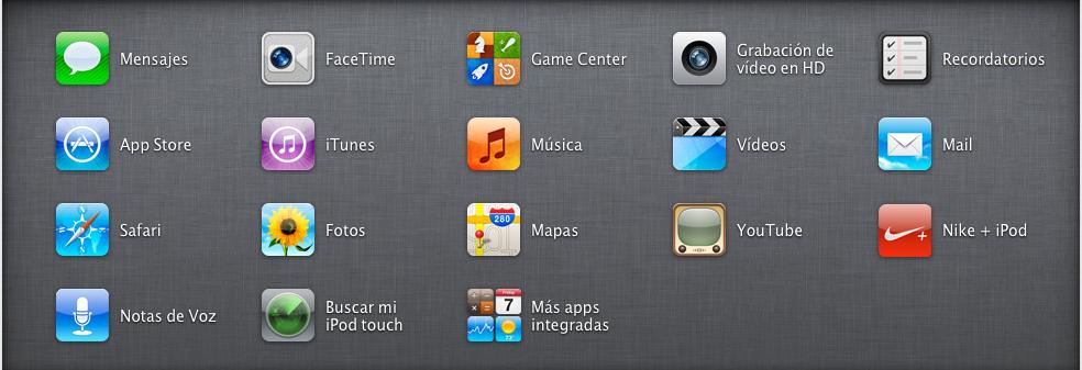Sin título2 Review : iPod Touch , un centro multimedia en la palma de tu mano