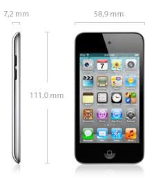 techspecs sizeandweight Review : iPod Touch , un centro multimedia en la palma de tu mano