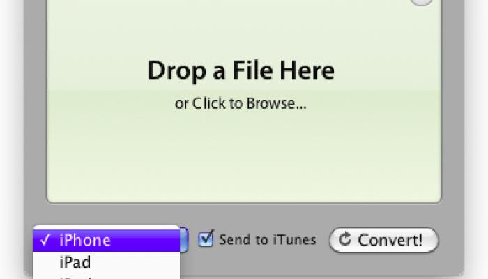 iConvert, traspasar archivos de audio y vídeo para dispositivos iOS facilmente