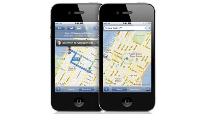 Filtradas Fotos de los nuevos Maps de Apple en IOS
