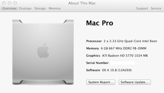 MacPro 1,1 con Mountain Lion