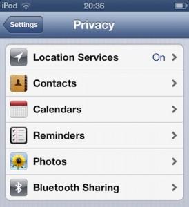 bluetooth sharing ss 274x300 Nueva actualización de la iOS 6 beta 4