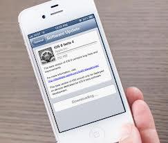 Nueva actualización de la iOS 6 beta 4