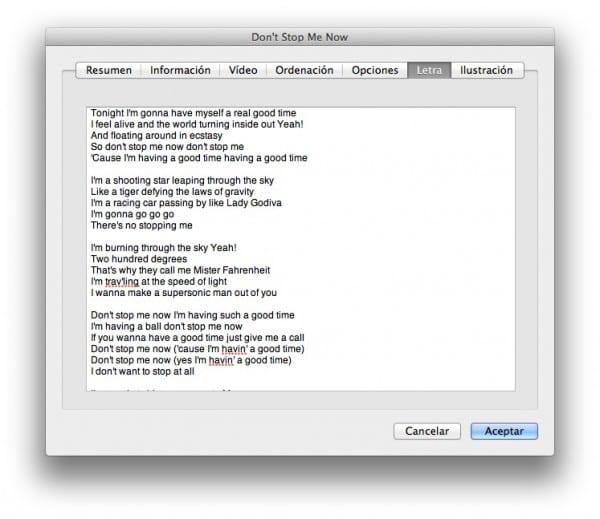 letra de las canciones de marea:
