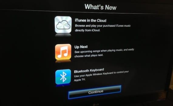 Teclado Bluetooth en Apple TV