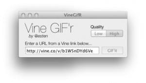 Convierte tus vines a gif