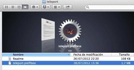 teleport-aplicacion