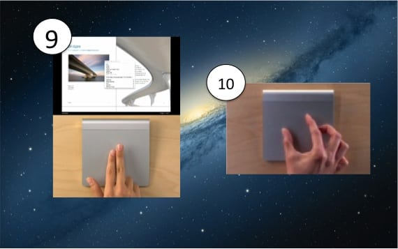 GESTOS 9-10 DEL MAGIC TRACKPAD