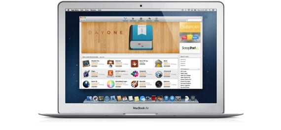 MACBOOK AIR CON APP STORE