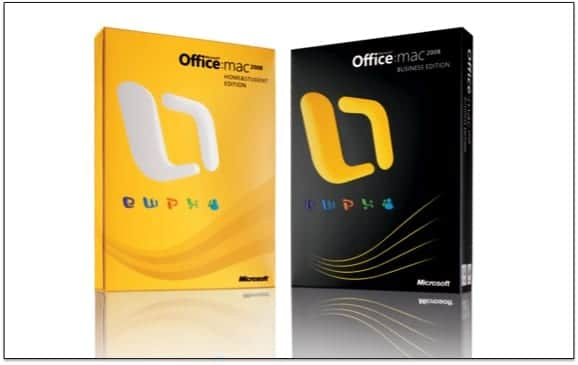 MICROSOFT OFFICE PARA MAC 2008