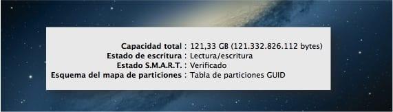 PROPIEDADES DE DISCO DE 128GB