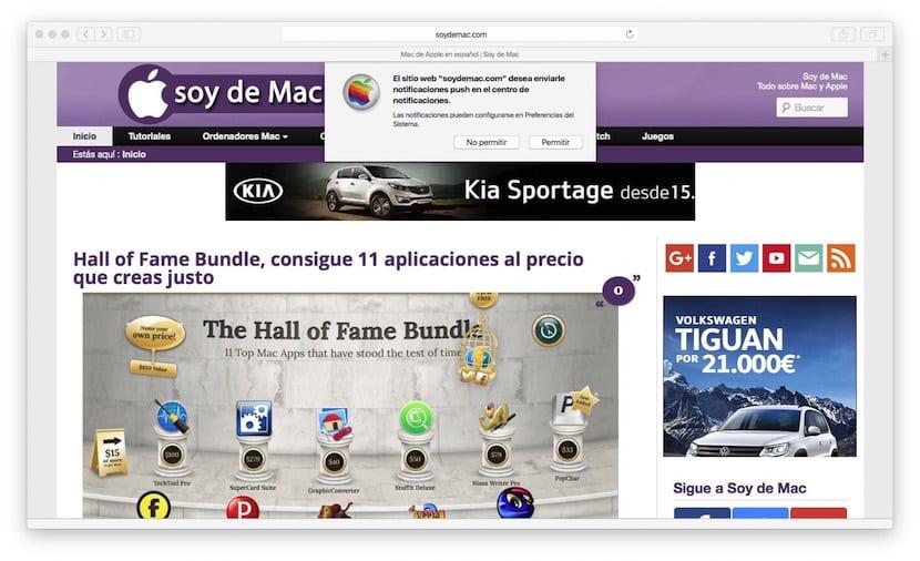 Capturas de ventana en Mac