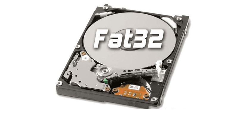 formatear fat32