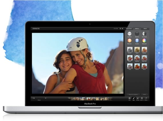ICONO IPHOTO. Vídeo
